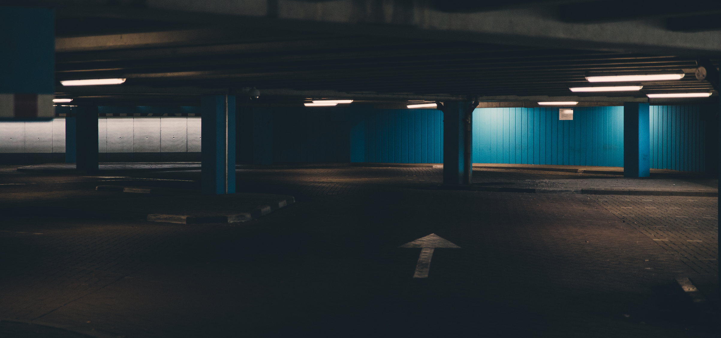 parkeerplaats pijl
